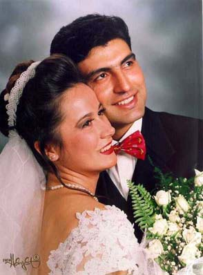 WE MARRIED 13th OF SEPTEMBER 1997